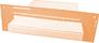 Standaard verzending als brievenbuspost in brievenbusdoos.