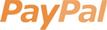 Betaling van beenmode met PayPal.